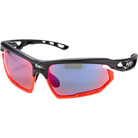 Rudy Project Fotonyk Gafas, matte black/red fluo/polar3FX HDR multilaser red
